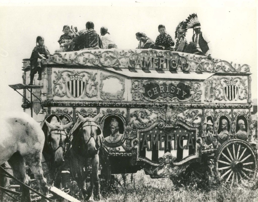 The America Tableau in 1927.
