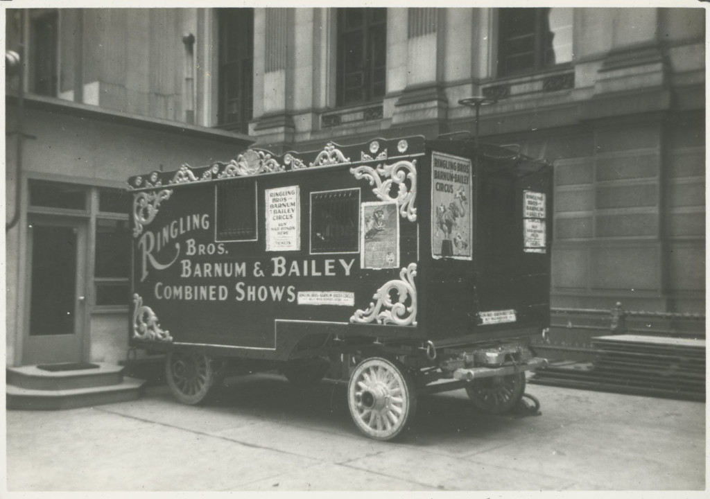 Al G. Barnes Circus Ticket Wagon