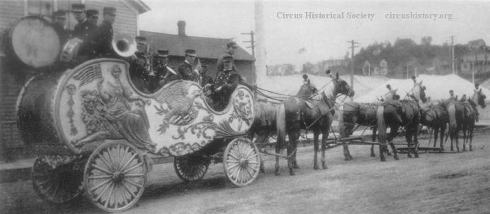 Norris and Rowe Band Chariot