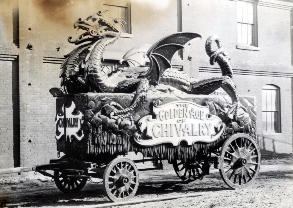 Barnum & Bailey's Golden Age of Chivalry