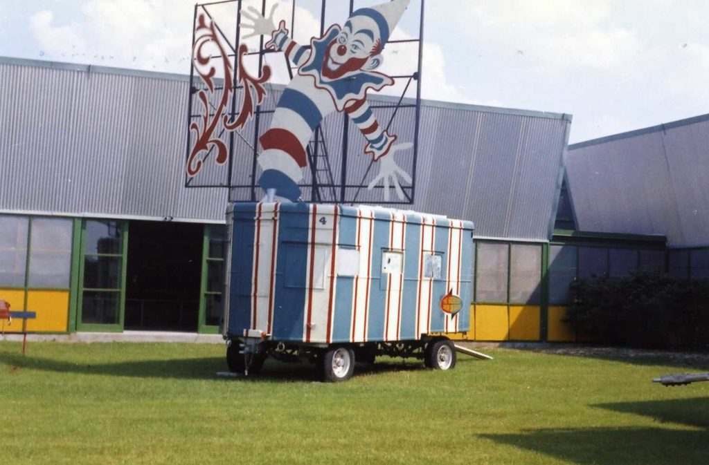 Ringling Bros. and Barnum & Bailey Circus Ticket wagon.
