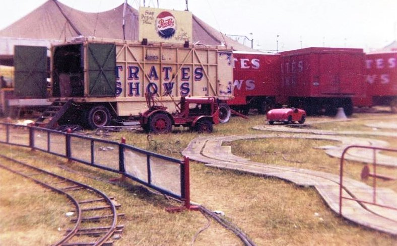 Clyde Beatty Circus Prop Wagon # 85